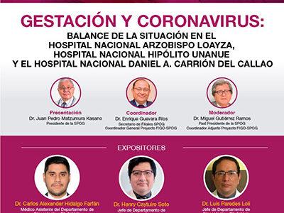 WEBINAR Gestación y Coronavirus – 17 de setiembre de 2020