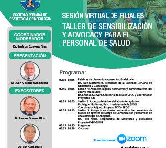 Sesión Virtual de Filiales – Puno– 24 de noviembre 2020