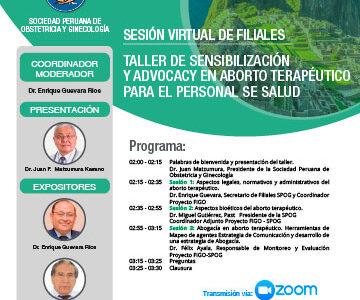 Sesión Virtual de Filiales – Cusco – 26 de noviembre 2020