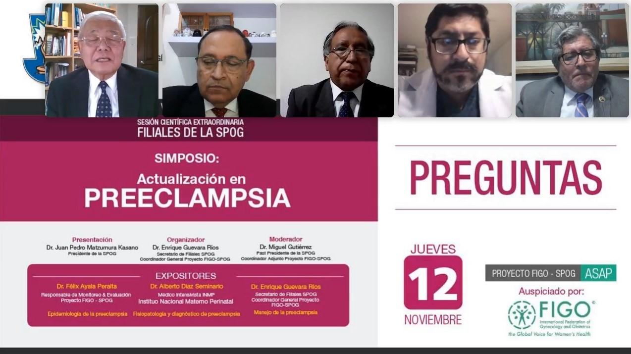 WEBINAR – Sesión Científica Extraordinaria  – 12 de noviembre de 2020 20h