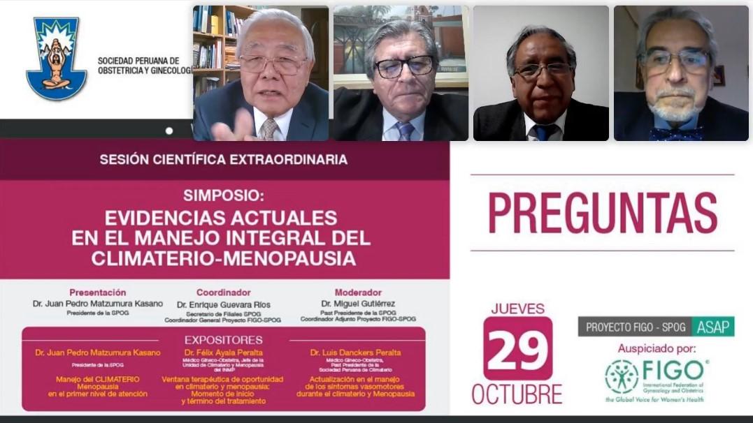 WEBINAR – Sesión Científica Extraordinaria  – 29 de octubre de 2020 20h