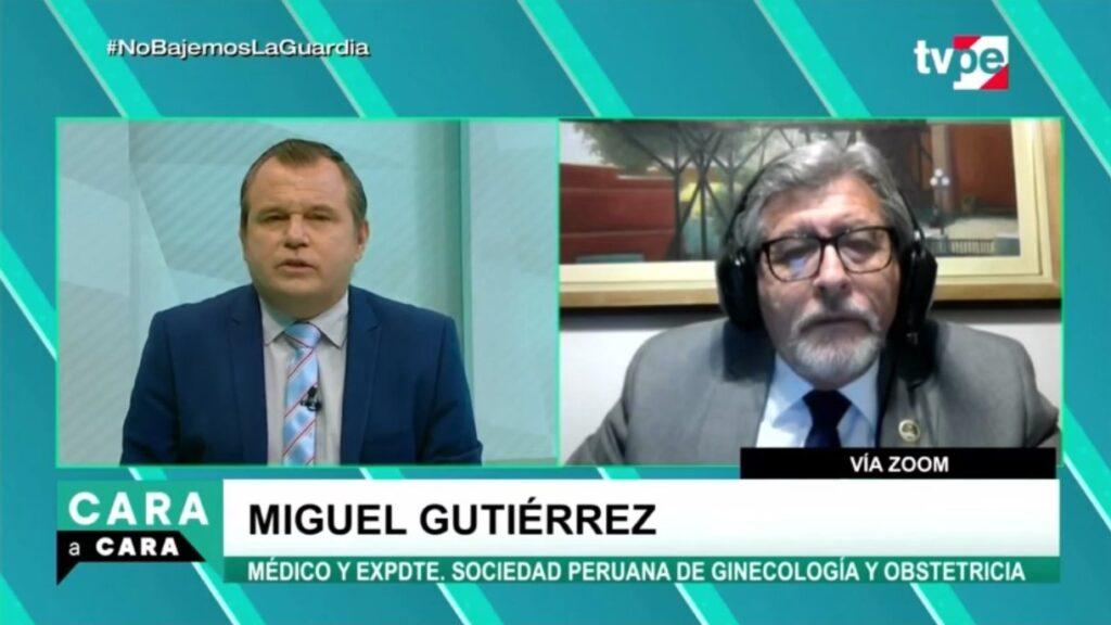 Entrevista Tv Perú Dr. Miguel Gutierrez – 05 de enero 2021 – Tema «Advocacy del aborto seguro en el Perú»