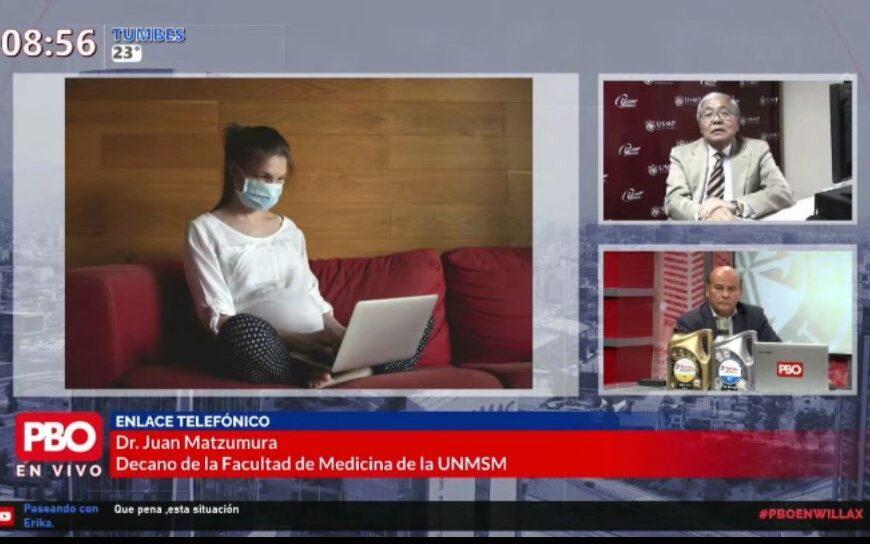 Dr. Juan Matzumura, ex presidente de la Sociedad Peruana de Obstetricia y Ginecología