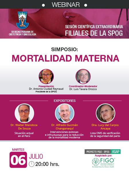 WEBINAR – Sesión Científica Extraordinaria – 06 de julio 2021