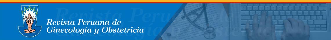 Revista Peruana de Ginecología y Obstetricia